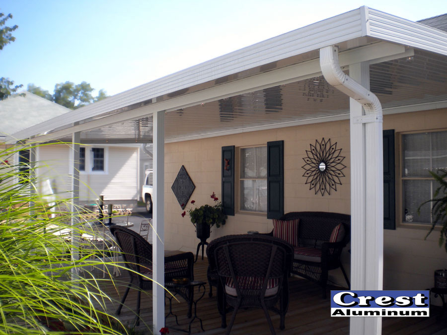 Patio Cover Design Gallery | Crest Aluminum Products Co, Inc Patio Cover  Roll Formed Perimeter Components