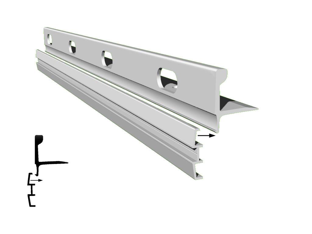 Aluminum Sailboat Toe Rail Crest Aluminum Products Co Inc