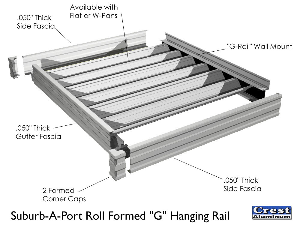 Crest aluminum products co inc roll formed patio covers